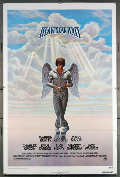 HEAVEN CAN WAIT (1978) 27202 Paramount Pictures  Original One-Sheet Poster (27x41) Folded  Very Fine Condition