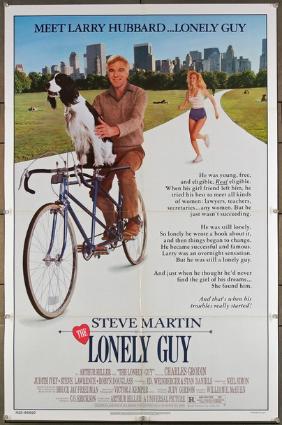 LONELY GUY, THE (1983) 27241 Original Paramount 1984 Release One Sheet Poster (27x41) Directed by Arthur Hiller and starring Steve Martin