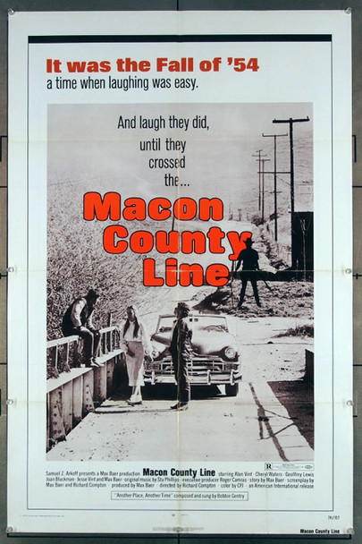 MACON COUNTY LINE (1974) 27246 An original American International 1974 One Sheet Movie Poster (27x41) Directed by Richard Compton