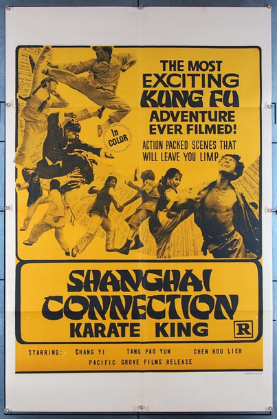 SHANGHAI CONNECTION (70'S) 27434 Pacific Grove Films Original U.S. One-Sheet Poster (27x41)  Folded  Very Fine Condtion