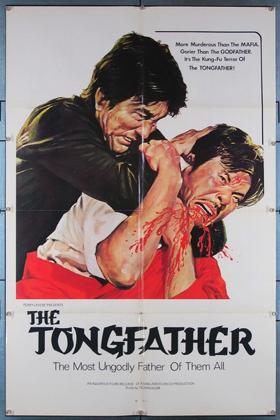 TONGFATHER, THE (1974) 27426 Aquarius Releasing Original U.S. One-Sheet Poster (27x41) Folded  Very Fine Condition