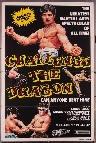 CHALLENGE OF THE DRAGON (1974) 27399 21st Century Distribution Original U.S. One-Sheet Poster (27x41) Folded  Very Fine Condition