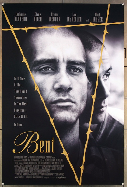 BENT (1997) 26389 Channel Four Films Original U.S. One-Sheet Poster (27x41) Rolled  Very Fine Condition