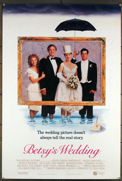 BETSY'S WEDDING (1990) 26390 Buena Vista Pictures Original U.S. One-Sheet Poster  Rolled  27x41  Very Fine Condition