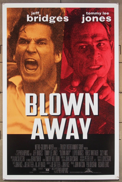 BLOWN AWAY (1994) 26391 MGM Original One-Sheet Poster (27x41) Rolled  Very Fine Condition
