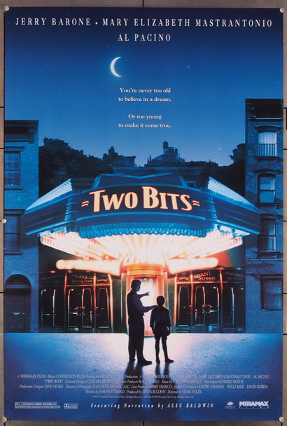 TWO BITS (1995) 26440 Miramax Original U.S. One-Sheet Poster (27x41) Rolled Very Fine Condition