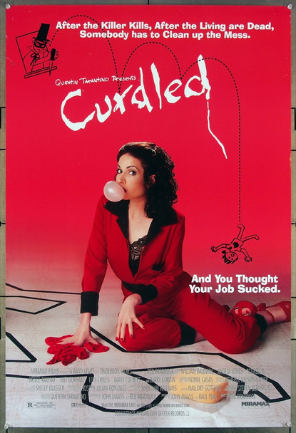 CURDLED (1996) 26396 Miramax Original One-Sheet Poster (27x41) Rolled Very Fine Condition  Double Sided