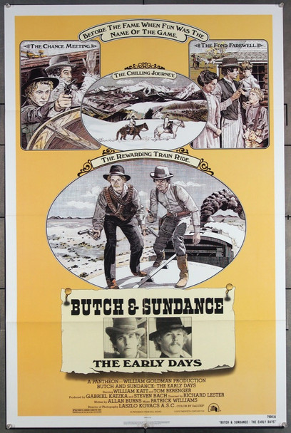 BUTCH AND SUNDANCE - THE EARLY YEARS (1979) 27132 20th Century Fox Original One-Sheet Poster (27x41) Folded  Very Fine Condition