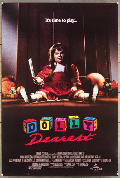 DOLLY DEAREST (1991) 26398 Trimark Original One-Sheet Poster (27x41) Rolled  Very Fine Condition