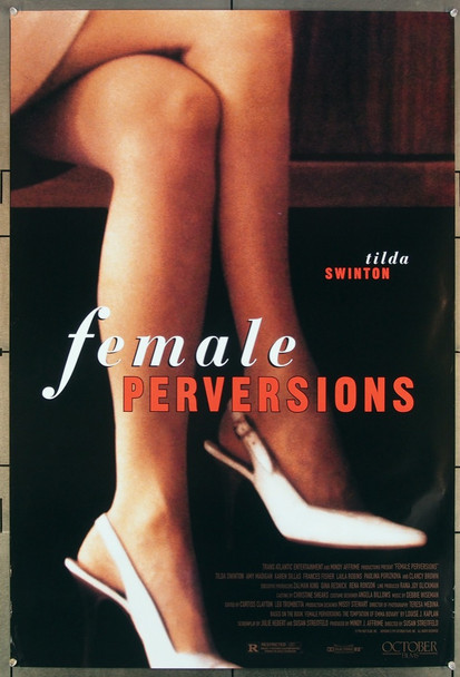 FEMALE PERVERSIONS (1996) 26401 October Films Original One-Sheet Poster (27x41) Rolled  Very Fine Condition