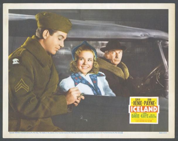ICELAND (1942) 2624 20th Century Fox Scene Lobby Card (11x14)  Fine Plus Condition