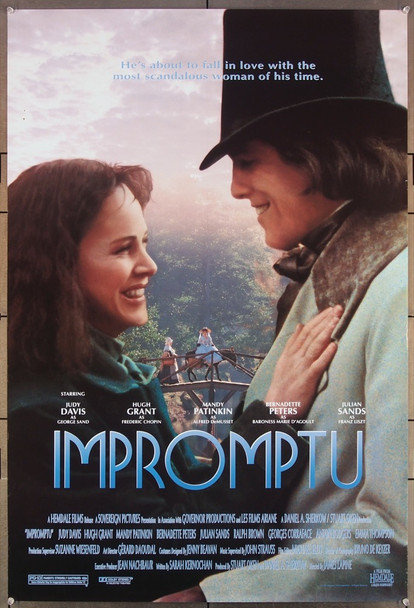 IMPROMPTU (1991) 26414 Hemdale Original U.S. One-Sheet Poster  (27x41)  Rolled  Very Fine Condition