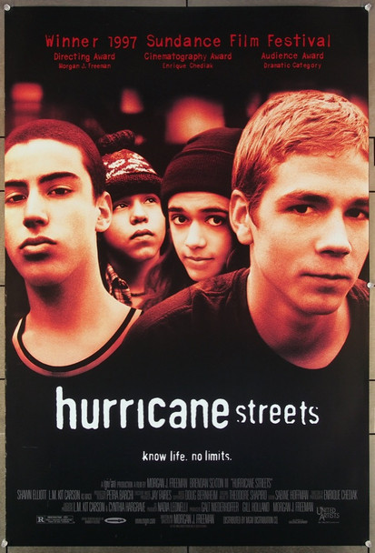 HURRICANE STREETS (1997) 26413 United Artists Original One-Sheet Poster (27x41) Rolled  Very Fine Condition
