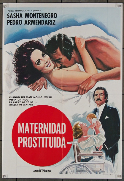 EXTRANO MATRIMONIO (1984) 27512 Cinematographica  Original Mexican Poster (18x27) Folded  Fine Plus Condition