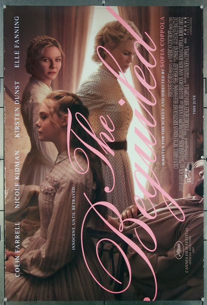 BEGUILED, THE (2017) 27479 Focus Features Original One-Sheet Poster  (27x40)  Double Sided  Rolled  Very Fine Plus