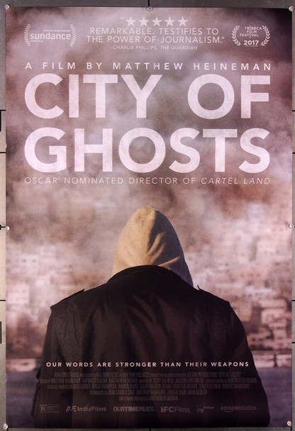 CITY OF GHOSTS (2017) 27480 IFC Film Original One-Sheet Poster (27x40) Rolled Very Fine