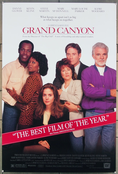 GRAND CANYON (1991) 26407 20th Century Fox Original One-Sheet Poster (27x41) Rolled  Very Fine Condition