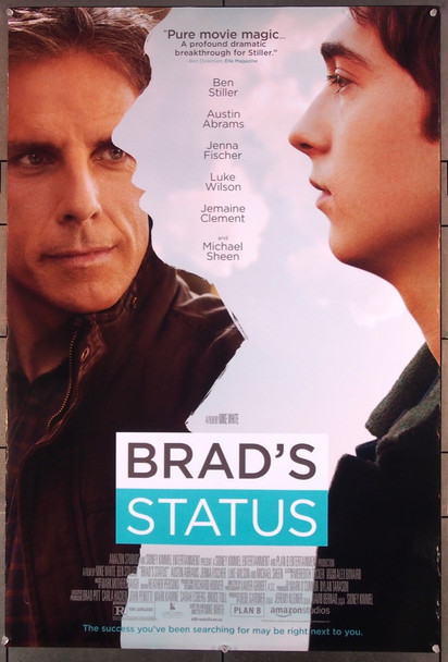 BRAD'S STATUS (2017) 27591 Annapurna Pictures Original One-Sheet Poster (27x40) Rolled  Double Sided  Very Fine Condition