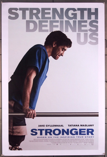 STRONGER (2017) 27494 Roadside Attractions Original One-Sheet Poster (27x40) Double Sided Rolled