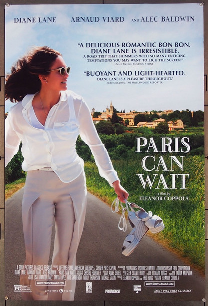 PARIS CAN WAIT (2016) 27089 Original Sony Pictures Classics One Sheet Poster (27x41).  Rolled   Very Fine.