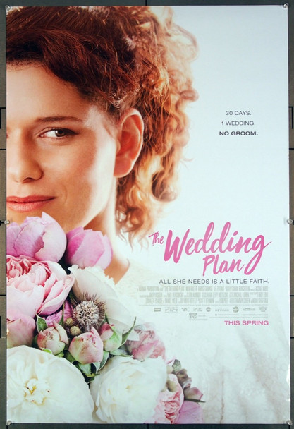 WEDDING PLAN, THE (2016) 27091 Original Roadside Attractions One Sheet Poster (27x41).  Rolled.   Very Fine.