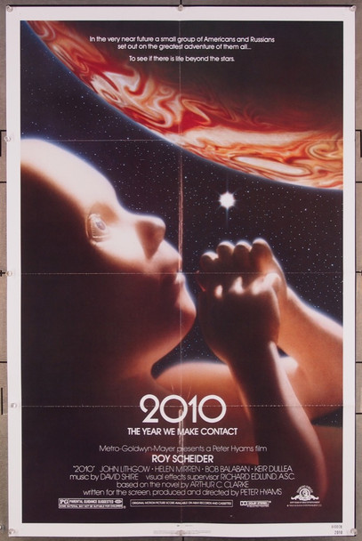 2010 (1984) 27097 Original MGM One Sheet Poster (27x41).  Folded.  Very Fine  Condition.