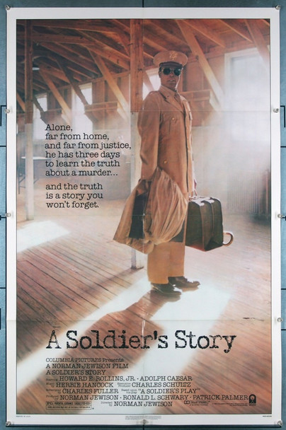 SOLDIER'S STORY, A (1984) 27345 Columbia Pictures Original U.S. One-Sheet Poster (27x41) Folded  Very Fine Condition