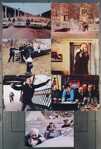 FRENCH CONNECTION, THE (1971) 16705 20th Century Fox Original U.S. Color Photographs (11x14)  Seven Individual Printed Photographs