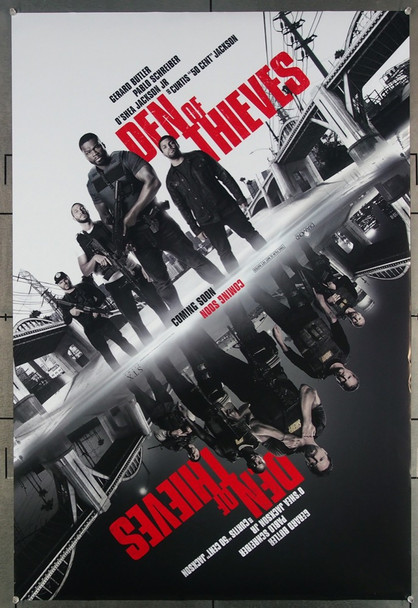 DEN OF THIEVES (2018) 27647 Relativity Media Original U.S. One-Sheet Poster (27x40)  Rolled  Very Fine Plus Condition
