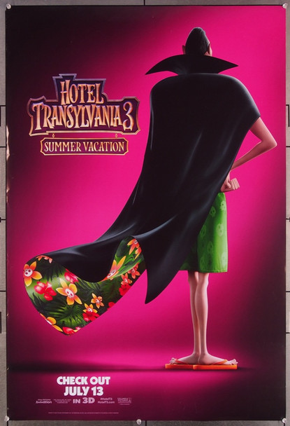 HOTEL TRANSLVANIA 3: SUMMER VACATION (2018) 27651 Sony Pictures Releasing Original One-Sheet Poster (27x40)  Rolled  Very Fine Condition