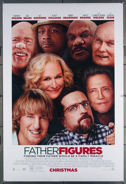 FATHER FIGURES (2017) 27648 Warner Brothers Original U.S. One-Sheet Poster (27x40) Rolled  Very Fine Condition