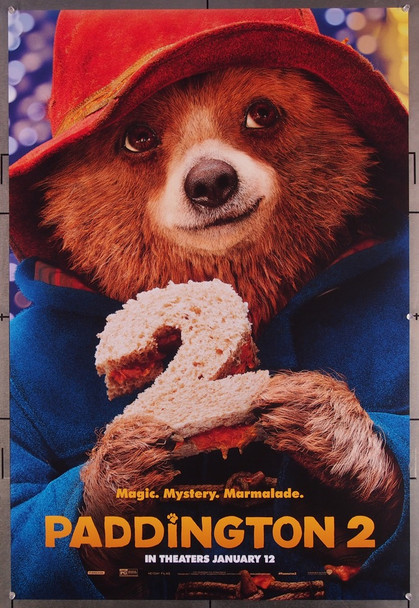 PADDINGTON 2 (2017) 27656 Studio Canal Original One-Sheet Poster  (27x40)  Rolled  Very Fine Condition