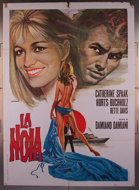 NOIA, LA (1963) 27573 Italian Re-release Poster (39x55)  Folded  Very Good Condition