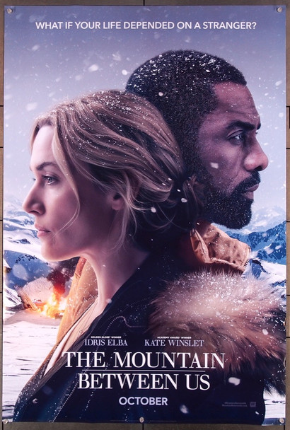 MOUNTAIN BETWEEN US, THE (2017) 27603 20th Century Fox Original Advance U.S. One-Sheet Poster (27x41)  Rolled  Very Fine Condition