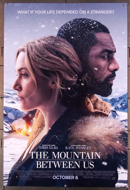 MOUNTAIN BETWEEN US, THE (2017) 27604 20th Century Fox Original U.S. One-Sheet Poster (27x40) Rolled  Very Fine Condition