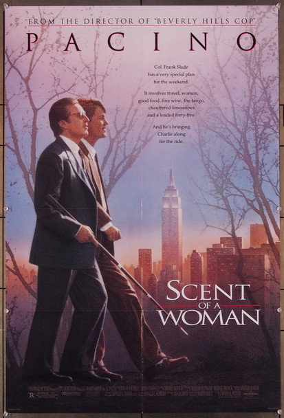 SCENT OF A WOMAN (1992) 27331 Universal Pictures Original U.S. One-Sheet Poster (27x41) Folded  Very Fine Condition