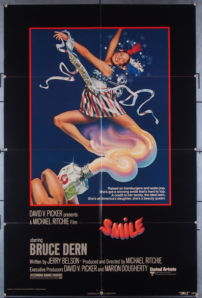 SMILE (1975) 27340 United Artists Original U.S. One-Sheet Poster (27x41) Folded  Fine Plus Condition