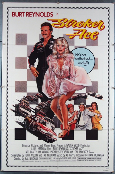 STROKER ACE (1983) 27353 Universal Pictures Original U.S. One-Sheet Poster (27x41) Folded  Very Fine Condition