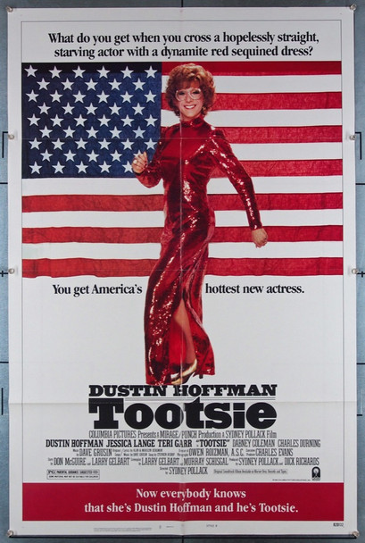TOOTSIE (1983) 27366 Columbia PIctures Original U.S. One-Sheet Poster StyleB  27x41 Folded