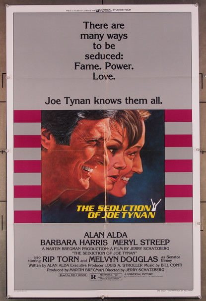 SEDUCTION OF JOE TYNAN, THE (1979) 27332 Universal Pictures Original U.S. One-Sheet Poster  (27x41) Folded  Very Fine Condition