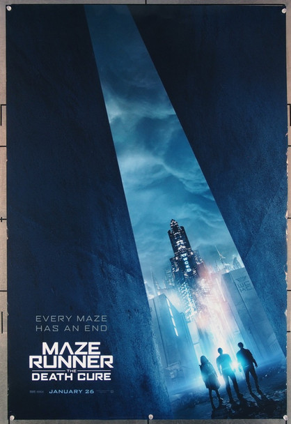 MAZE RUNNER: THE DEATH CURE  (2018) 27675 20th Century Fox Original U.S. One-Sheet Poster  27x40  Rolled  Fine Plus Condition