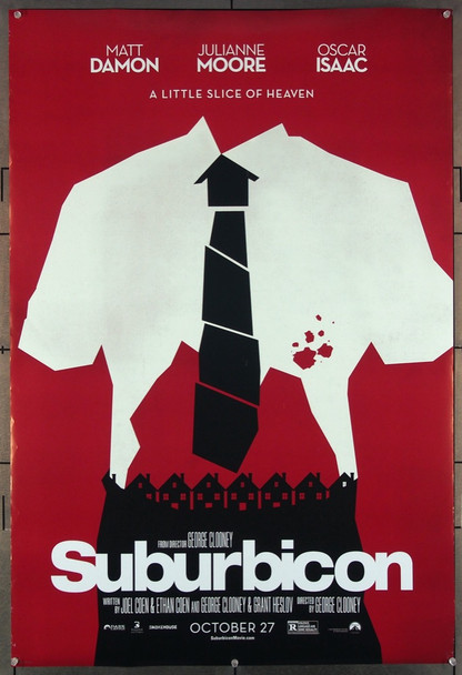 SUBURBICON (2017) 27716 Bloom Films Original U.S. One-Sheet Poster (27x40) Double Sided  Very Fine Condition