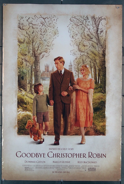 GOODBYE CHRISTOPHER ROBIN (2017) 27757 Fox Searchlight Pictures Original U.S. One-Sheet Poster (27x40) Rolled  Fine Plus Condition