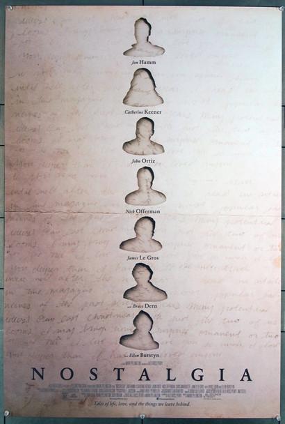 NOSTALGIA (2018) 27764 Original Bleecker Street Media One-Sheet Poster (27x40) Rolled  Very Fine Condition