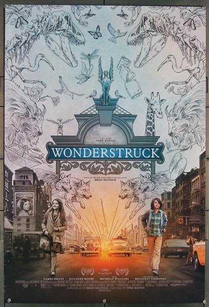 WONDERSTRUCK (2017) 27771 Amazon Studios Original U.S. One-Sheet Poster (27x40) Rolled  Very Fine Condition