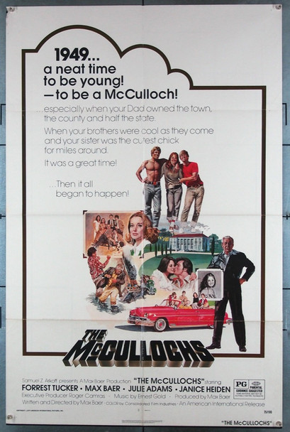 WILD MUCULLOCHS, THE (1975) 11975 American International U.S. One-Sheet Poster (27x41) Folded Very Good Plus Condition