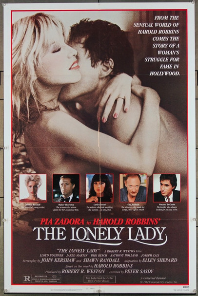 LONELY LADY, THE (1983) 27242 An original Universal 1983 Release One Sheet Poster (27x41) Directed by Peter Sasdy and starring Pia Zadora.