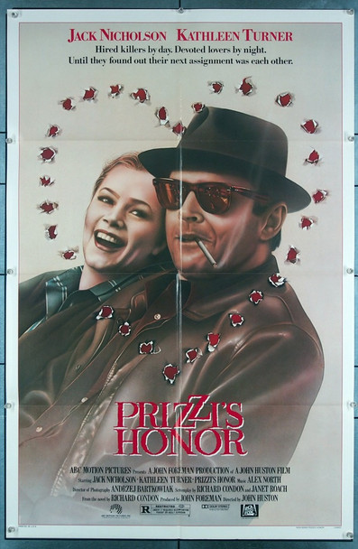 PRIZZI'S HONOR (1985) 3219 20th Century Fox Original One-Sheet Poster (27x41) Folded  Fine Plus Condition