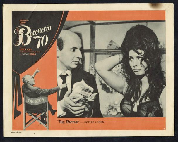 BOCCACCIO '70 (1962) 27712 Embassy Pictures Original Scene Lobby Card (11x14) Good Condition