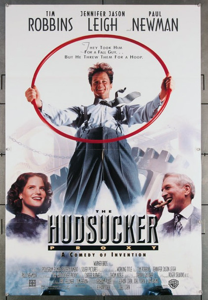 HUDSUCKER PROXY, THE (1990) 27210 An original Warner Brothers 1990 Release One Sheet Poster (27x41) Directed  by Joel and Ethan Coen